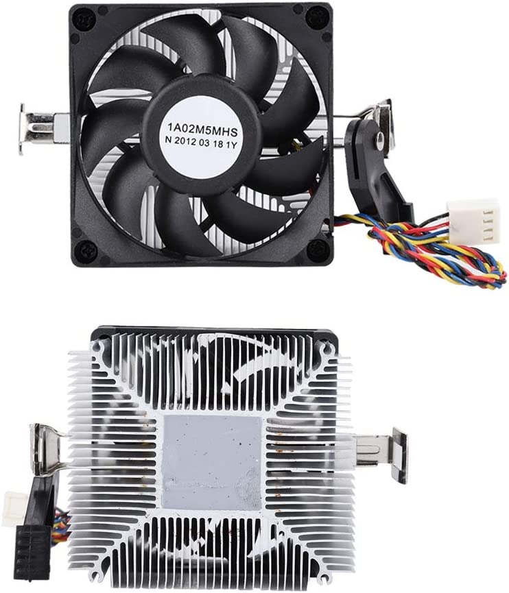 Pokerty CPU Cooler 12V Hydraulic Bearing 2200RPM High Speed 7015 Silent Fan