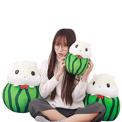 BZLine/® Niedlich Hamster Pl/üschtier Spielzeug Obst Hamster Kawaii Stress Reliever Toy A