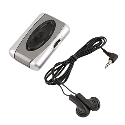 Amplificador de sonido de TV personal para audífonos, dispositivo de asistencia para escuchar Megaphone