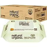 Lovesprings Natural Organic Original Plain Wet Wipes CAP - Case, 100 count (Pack of 10)