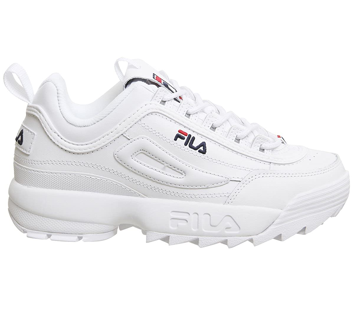 Fila Femmes Blanc Disruptor II Premium Basket