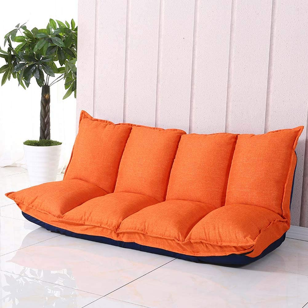 Double Japanese Multi-Function Small Apartment Sofa Chair Bedroom Lazy Sofa Lazy Couch Tatami Folding Sofa,#1