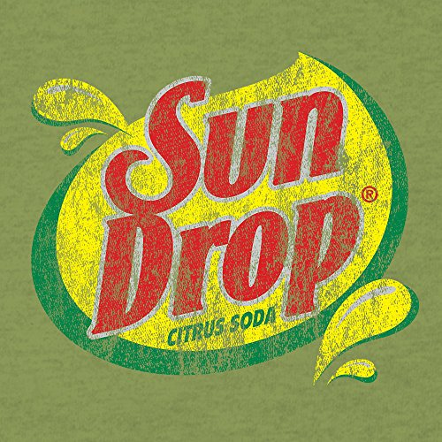 Tee Luv Sun Drop T Shirt SunDrop Soda Logo Shirt (Juniors