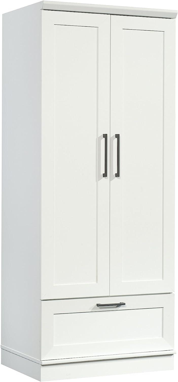 Sauder Homeplus Wardrobe, Soft White finish