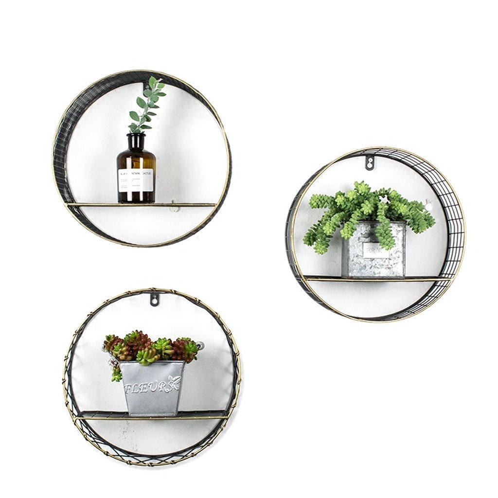 KTYX Cremagliera creativa del vaso del mensola del mantello del salone dell'interno del fiore Flower stand