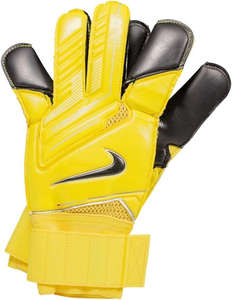 Prueba máximo Armario  Amazon.com : Nike Goalkeeper Vapor Grip 3 [Yellow] (11) : Soccer Goalie  Gloves : Sports & Outdoors