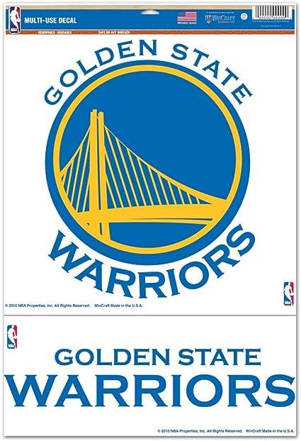 Golden State Warriors Vinyl Car Truck Window STICKER Basketball style 2