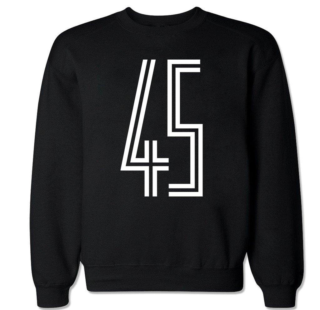 S Space Jam 45 Crew Neck Sweater Shirts