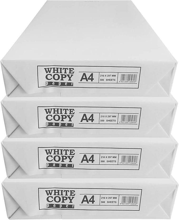 5000 Blatt PAPIER Marke Paper One DIN A4 weiß KOPIERPAPIER DRUCKERPAPIER
