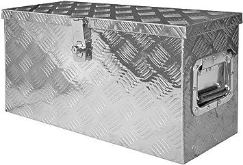 Truck Box Caja de Herramientas Maletín de Herramientas Aluminio Alu Box V2Aox: Amazon.es: Bricolaje y herramientas
