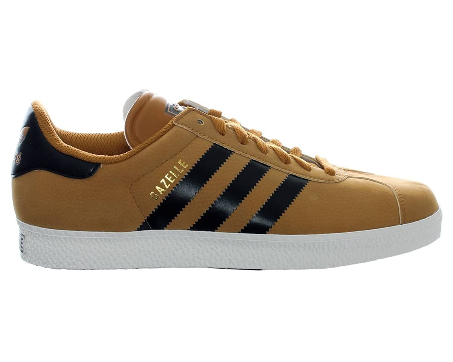 brown adidas gazelle