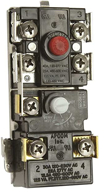 Apcom Water Heater Thermostats Upper and Lower Model WH10A and WH9 NEW