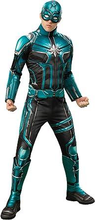 Amazon Com Rubie S Men S Marvel Captain Marvel Men S Deluxe Yon Rogg Costume Adult Costume Clothing Marvel carol danvers cosplay costume. rubie s men s marvel captain marvel men s deluxe yon rogg costume adult costume