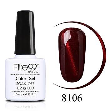 Amazon.com: Elite99 esmalte de uñas de gel 3d ojo de gato ...