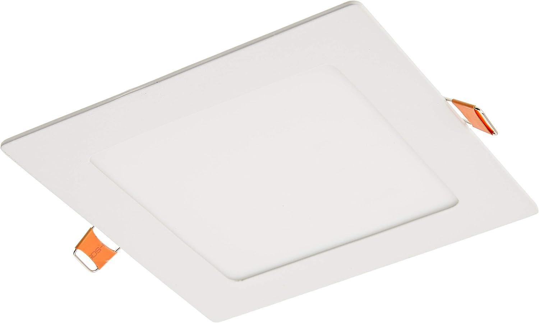 Classe /énerg/étique A++ Led Spot encastrable carr/é 220Vblanc9Wblanc froid 6000Kpour salle de bain et salon