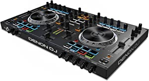 Denon DJ MC4000   Premium 2-Channel DJ Controller with Serato DJ Lite download (24-bit / 48 kHz)