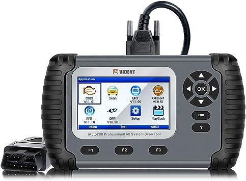 Automotive OBD2 Code Reader Diagnostic Tool Engine Transmission ABS SRS Scanner