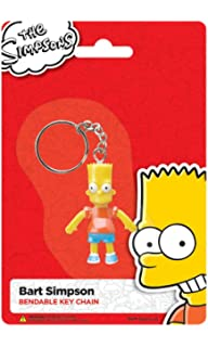 Amazon.com: Los Simpson lisa Simpson Bendable Llavero ...