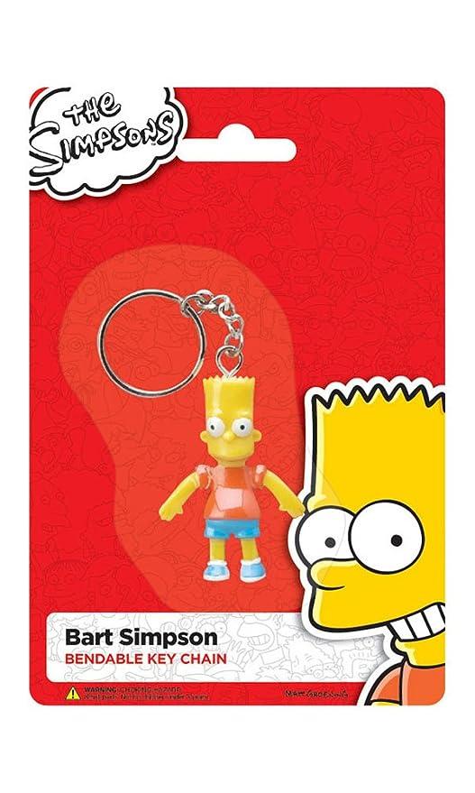 Los Simpsons Bart 393.202 Bendable llaveros 2.5 - Caja de 12 ...