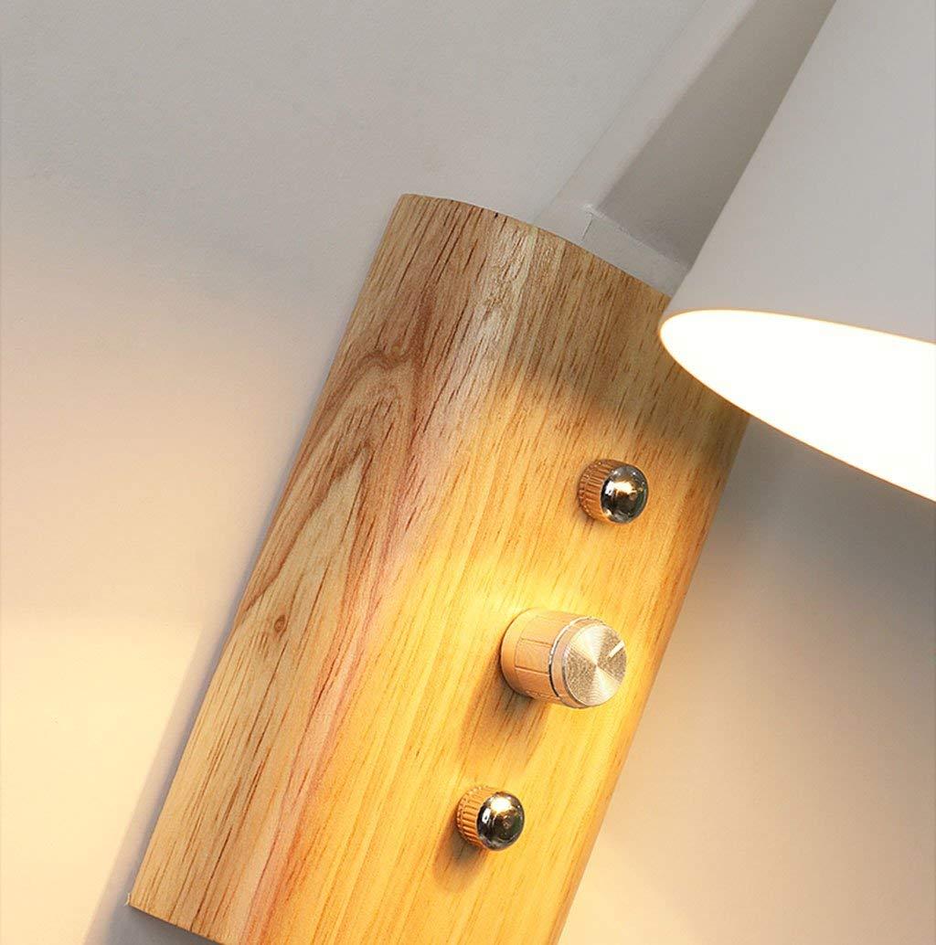 NANIH Home Massivholz Wandleuchte Generation von von von Simple Creative Wohnzimmer Schlafzimmer Nachttischlampe Wandlampe (Farbe   Weiß) 8c4e6b