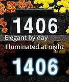 Sundigits 5 Digit Solar Led House Number