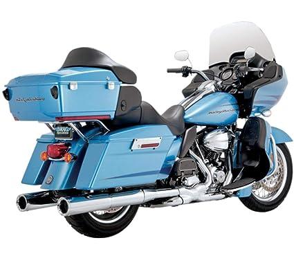 06-16 HARLEY FLHX2: Vance & Hines Hi-Output Slip-On Exhaust (CHROME)