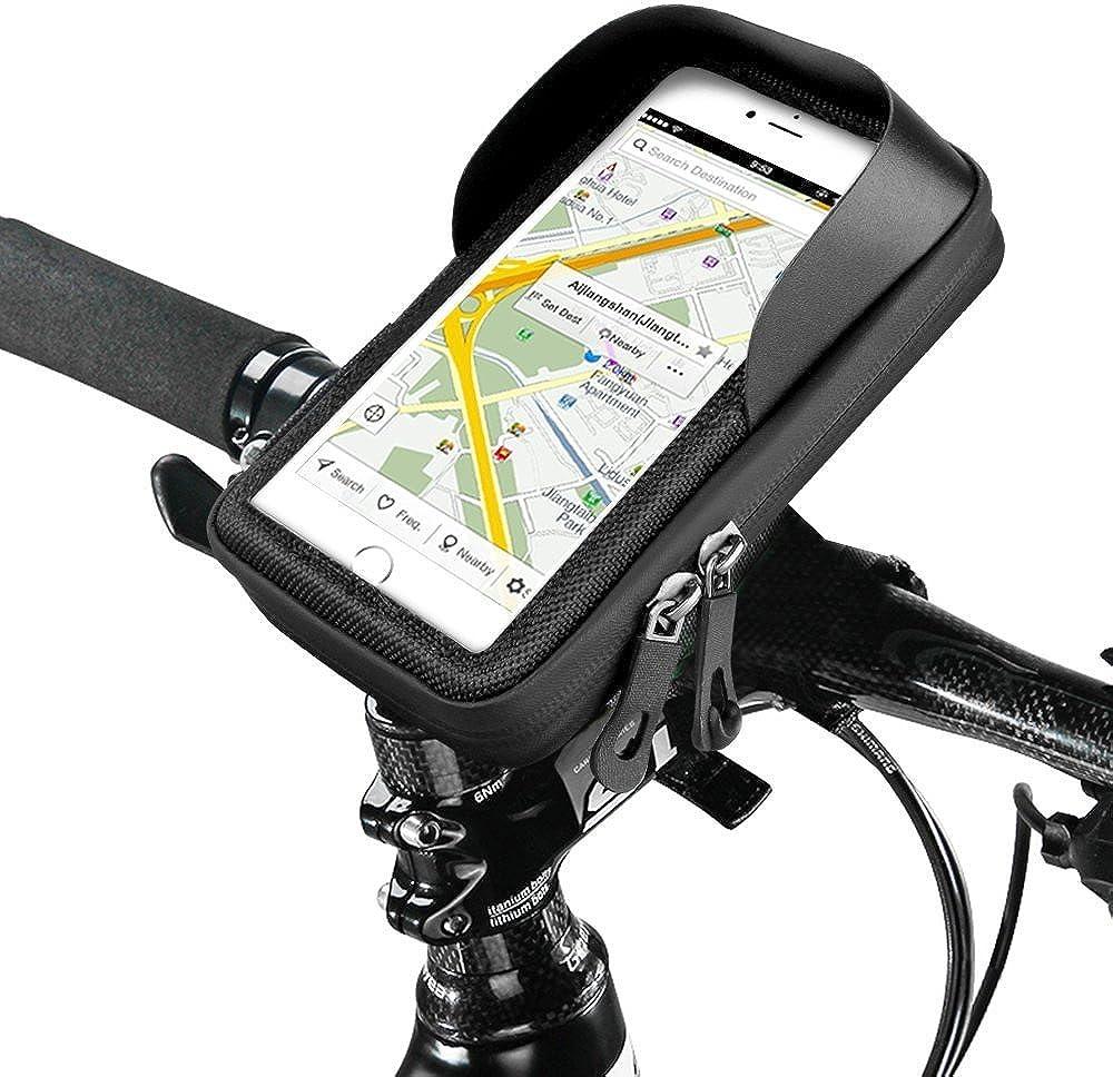 Fahrrad Handyhalter Handy Stütze Bremsbeläge Reißverschlüsse Wasserfest Haltbar