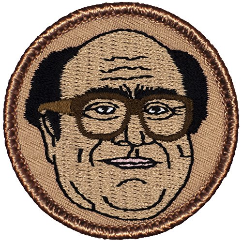 Danny Patrol Patch   2  Diameter Round Embroidered Patch