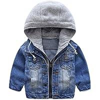 Niño Capucha Chaqueta Vaquera Abrigo Bebé Cazadora Vaquera Niñas Denim Jacket Manga Larga Mezclilla Jacke Trajes De…