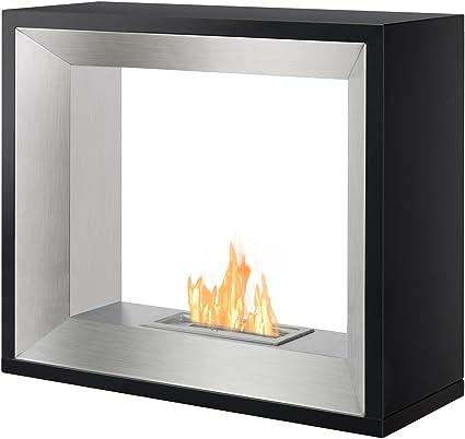 Ignis Freestanding Ventless Bio Ethanol Fireplace Tempo Amazon Co Uk Diy Tools