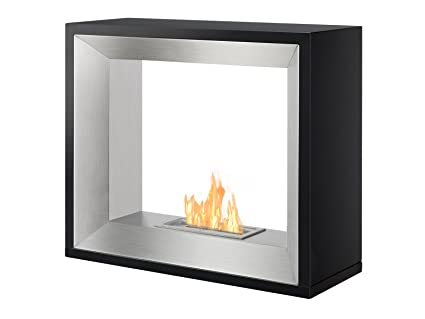 Amazoncom Ignis Freestanding Ventless Bio Ethanol Fireplace