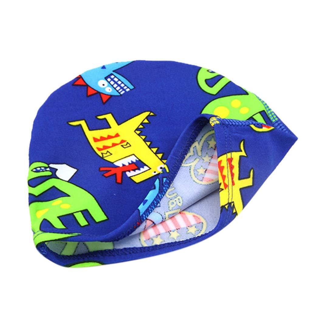 ❤️ Mealeaf ❤️ Children Kids Boy Girl Cartoon Print Swim Waterproof Swimming Cap Sports Hat(Multicolor,F) by ❤️ Mealeaf ❤️ _ Baby Swimwear (Image #2)