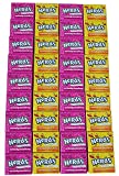 Wonka Nerds Treat Sized Mini Boxes from Nestle, the classic tiny, tangy, crunchy candy in a convenient mini box. Take these unique and fun candy treats everywhere you go. The current flavors are: Lemonade coated Wild Cherry and Seriously Stra...