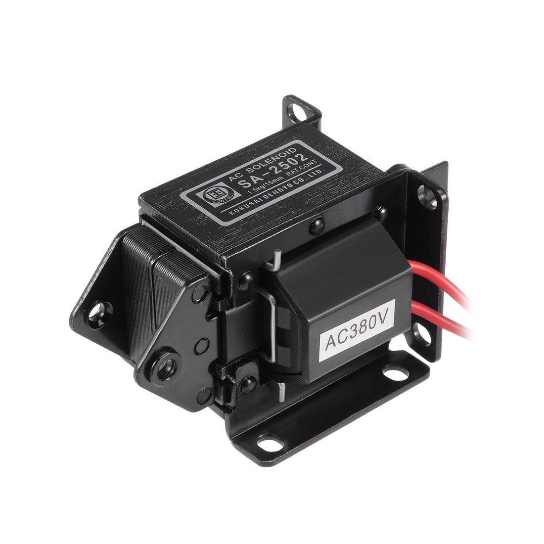 uxcell AC380V SA-2502 Energy Saving AC Tractive Magnet Solenoid Electromagnet