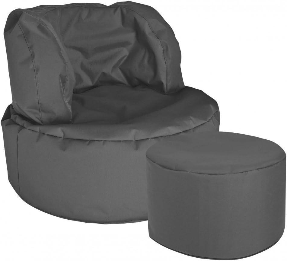 Sitting Point Fauteuil Design Bebop Uni Anthracite
