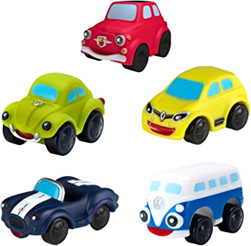 Motor Town Pack 5 vehículos blanditos para bebés, 2 surtidos ...