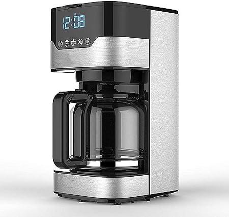 10 Copa programable Máquina de café con Goteo Cafetera y Temporizador, Filtro Permanente Cafetera de vainas y molido, Fácil de llenar y Limpiar cafetera Espresso: Amazon.es: Hogar