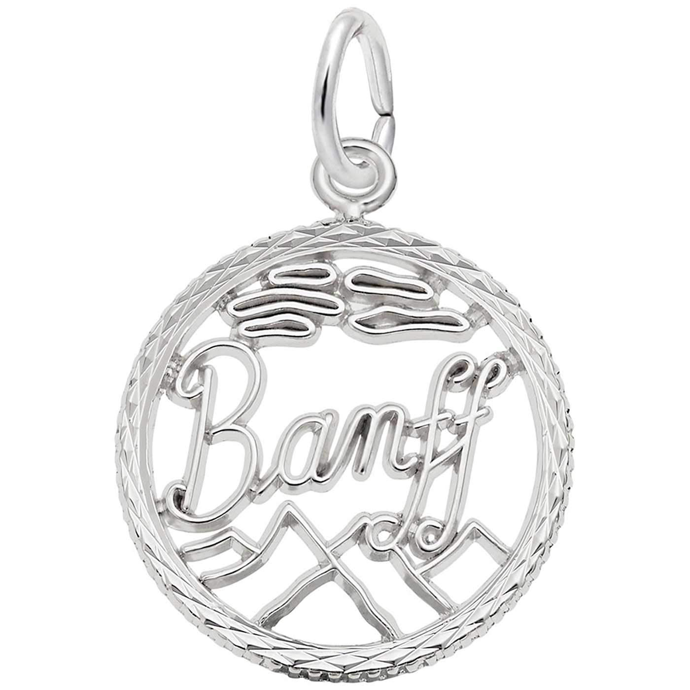 Rembrandt Charms Banff Charm, Sterling Silver