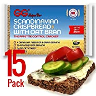 GG Crispbread with Oat Bran - 15 pack by Health Valley Natural Foods