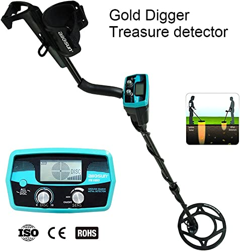 allsun Pro Underwater Metal Detector Underground Waterproof Gold Finder Treasure Hunter 2 Modes Outdoor Gold Digger