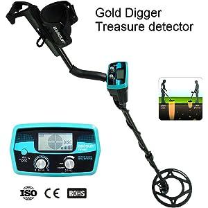 allsun Pro Underwater Metal Detector Underground Waterproof Gold Finder Treasure Hunter 2 Modes Outdoor Gold Digger