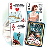 Flickback 1962 Trivia Playing Cards: 55th Anniversary or 55th Birthday Gift