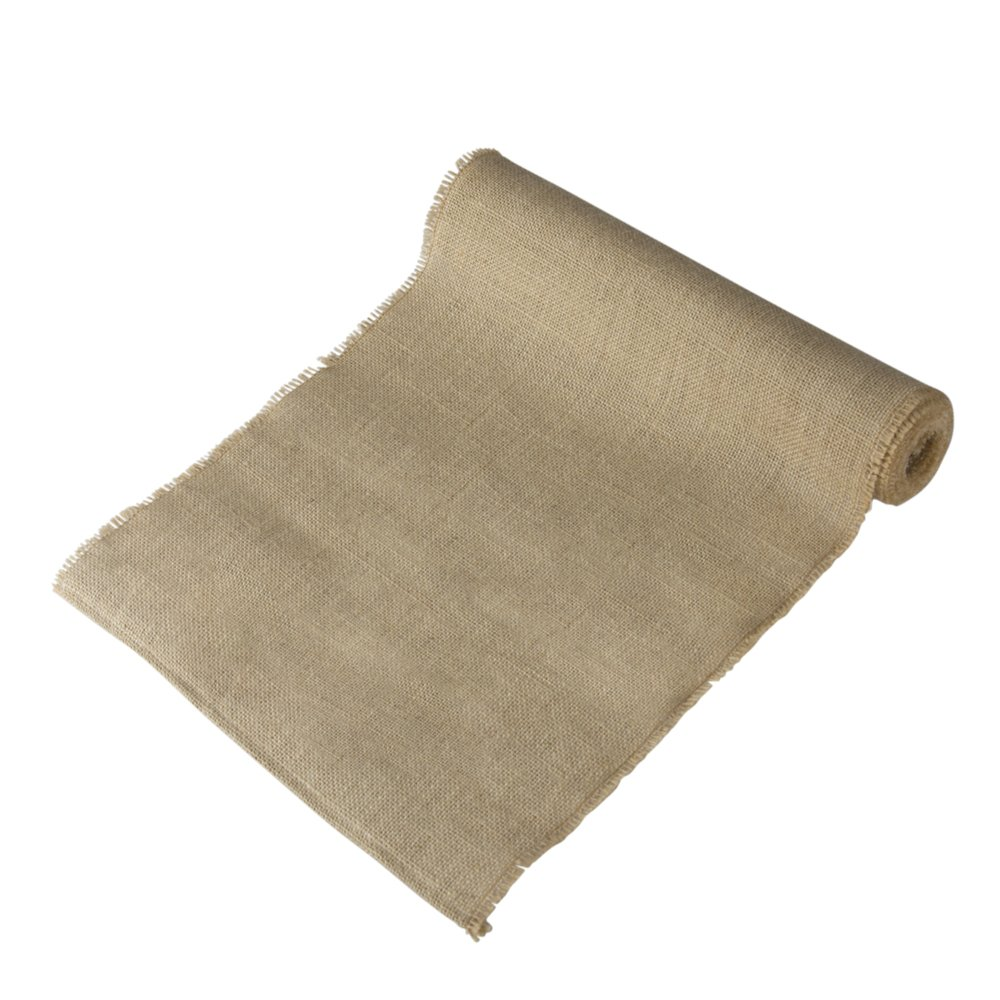 Ivy Lane Design Wedding Burlap Aisle Runner, Brown by Ivy Lane Design