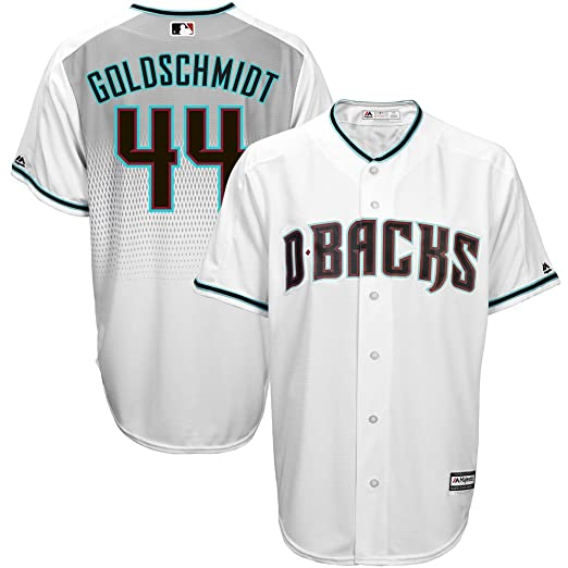 b82be2725 Paul Goldschmid Arizona Diamondbacks MLB Majestic Kids White Alternate Cool  Base Replica Jersey (Kids 4