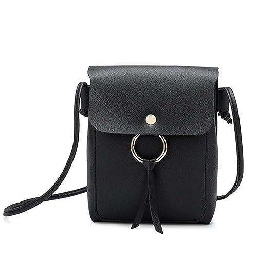 25e753f4e74 YFLY Women small shoulder bag mini cute patchwork phone handbag cover  opening bag cross body