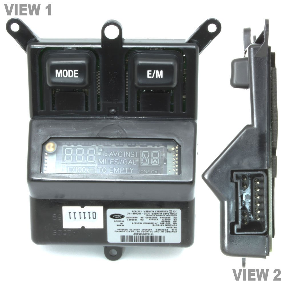 Ford 3C3Z-10D898-AA Genuine 3C3z10d898aa OEM Overhead Console Message Center Indicator Display, 1 Pack by Ford