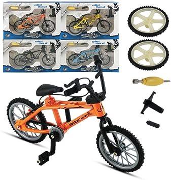 QNFY Bicicletas de Juguete de Dedo, Mini Aleación de Metal Dedo ...