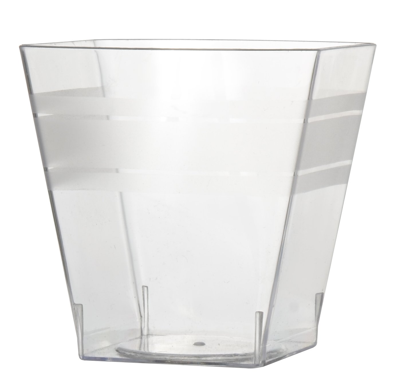 Tiny Tumblers  200 Pieces Fineline Settings TinyTemptations Clear 2.4 Oz