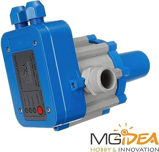 Press Control Regulador electr/ónico de 1,5 bar Electrobomba hidr/áulica agua SKD-1 Sistema de empalmes