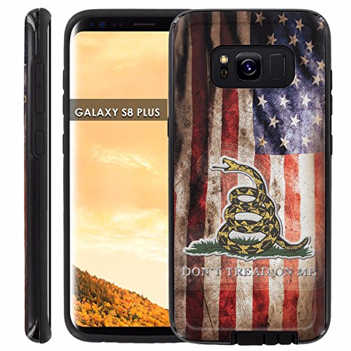 - Galaxy S8Plus Slim Case [Case86] Executive Phone Case [Screen Protector] INCLUDED - [Flag Distress] for Samsung Galaxy S8+ [6.2